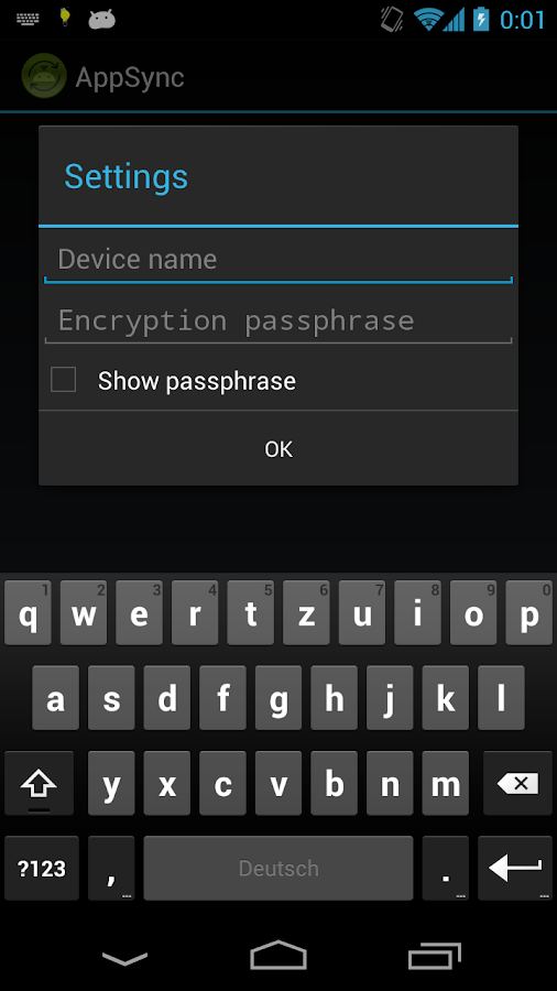 AppSync PRO Key - screenshot