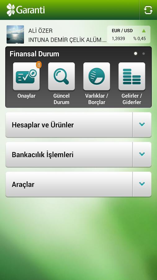 Garanti Cep Şubesi - screenshot