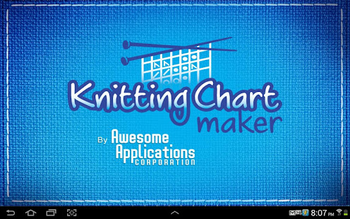 Knitting chart maker apps on google play