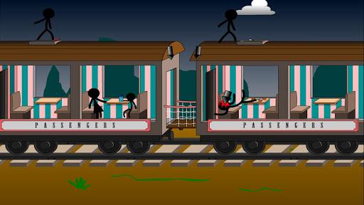 Stickman Click Death Train