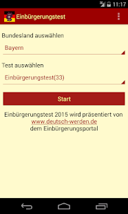 Einbürgerungstest 2016- screenshot thumbnail