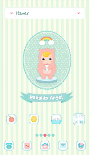 naughty angel 우유마셩 도돌런처 테마