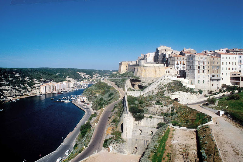 Visit the Bonifacio Citadel in Corsica, France, during a shore excursion on your   Royal Clipper sailing.