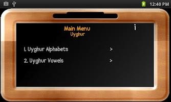 Screenshot of Baby Slate - Uyghur