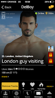 Screenshot of Atraf - Local gay app