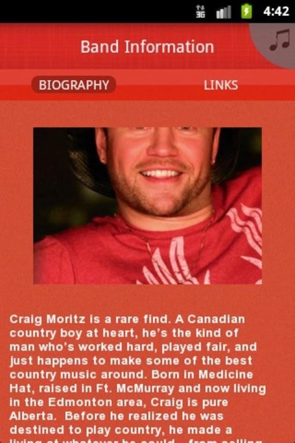 Craig Moritz - screenshot