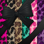 WALLPAPER SET|LeopardBow