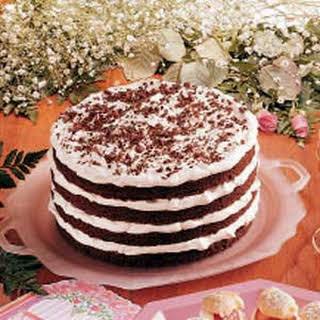 Chocolate Bavarian Torte.
