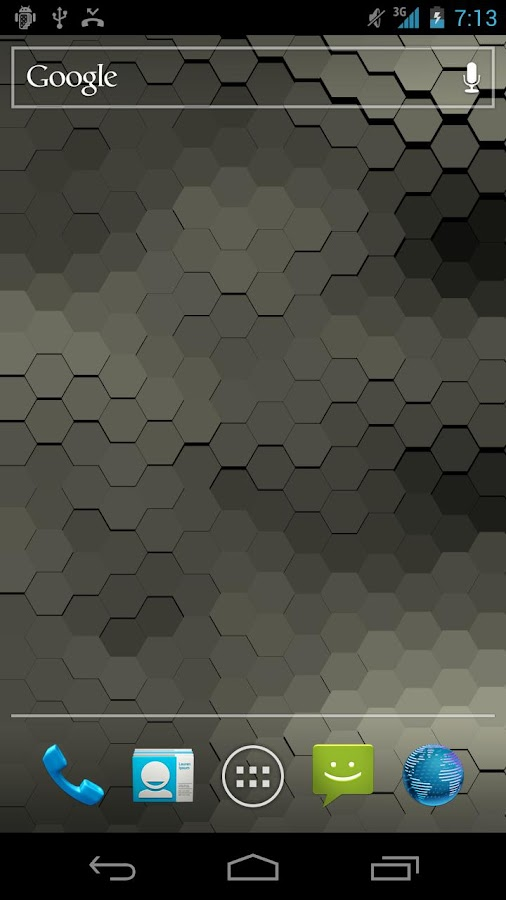 Live Wallpaper - Hex Scales - screenshot