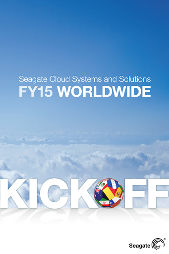 FY15 Seagate CSS Kickoff
