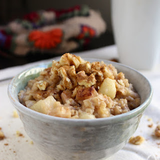Overnight Oatmeal - Cinnamon Apple