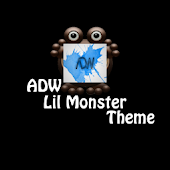 Lil Monster ADW Theme