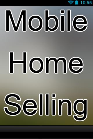 Mobile Home Selling