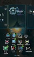 Screenshot of Next magic light livewallpaper