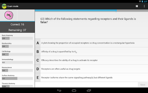 Medicine MCQs for Med Students- screenshot thumbnail