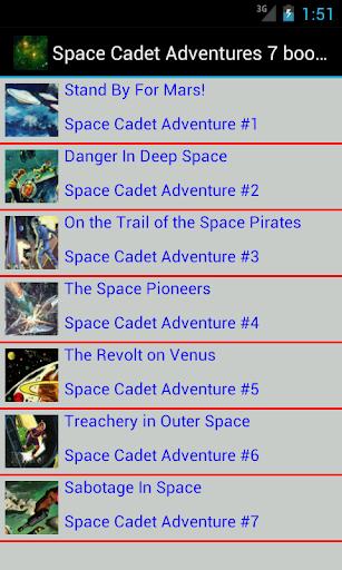 Space Cadet Adventures 7 books