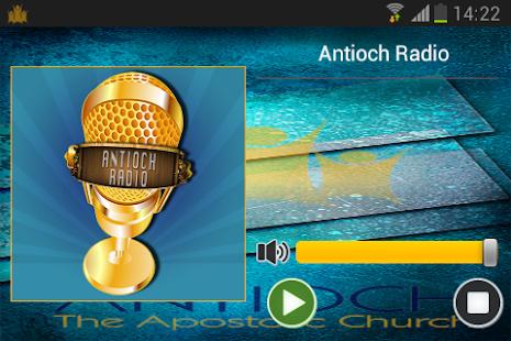 Antioch Radio Screenshot 2