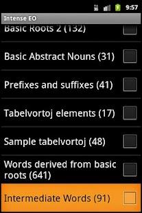 Intense Esperanto- screenshot thumbnail