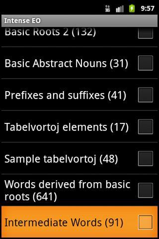 Intense Esperanto- screenshot