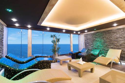 MSC-Preziosa-Aurea-Spa - MSC's sublime Aurea Spa provides a tranquil retreat where Preziosa passengers can soothe away life's stresses.