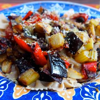 Caponata Pasta – Vegan Mofo day 10