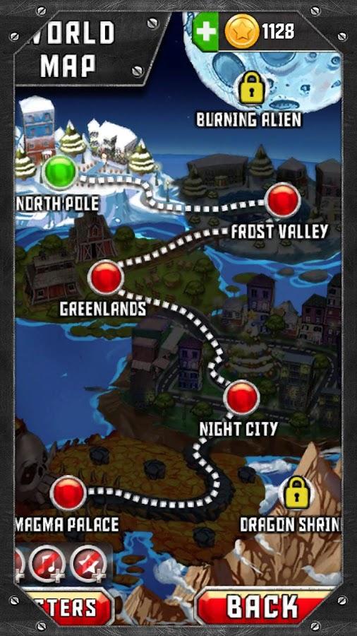 Santa Rockstar- screenshot