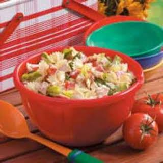 BLT Bow Tie Pasta Salad.
