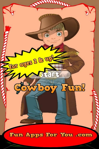 Free Cowboy Game For Boys