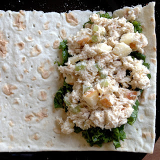 Tuna Salad Wraps.