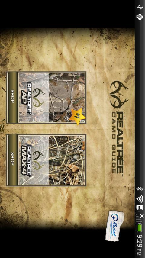 Realtree Camo Guide - screenshot