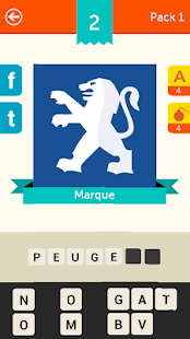 Iconica France ~ Pop Logo Quiz Capture d'écran