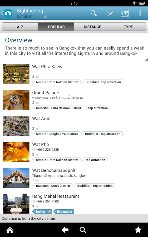 Thailand Travel Guide - screenshot