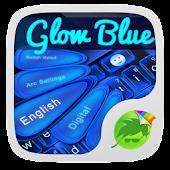 Blue Keyboard Glow