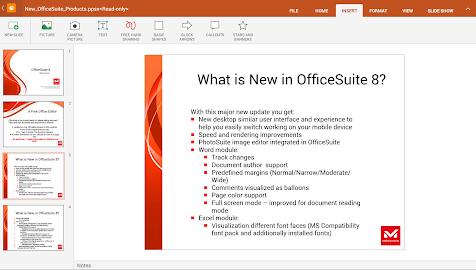OfficeSuite 8 + PDF Converter Screenshot 5