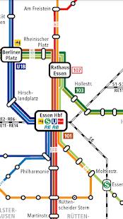 Essen Public Transport Pro - náhled