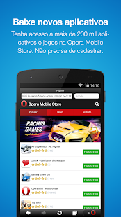 Navegador da Web Opera Mini - screenshot thumbnail