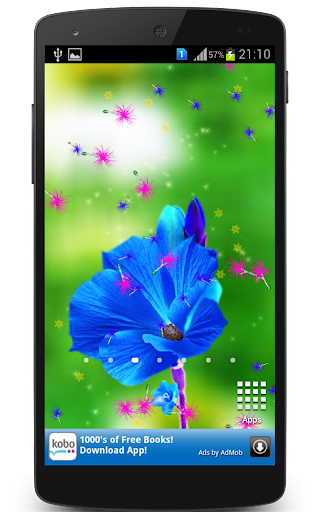 HD Flowers Live Wallpaper