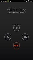 Screenshot of GM Alarm