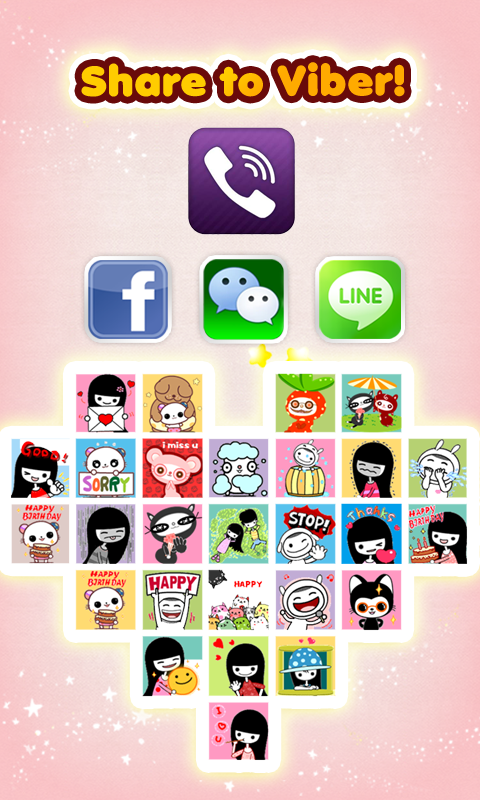 My Chat Sticker 2 V - screenshot