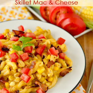 Sweet Corn and Bacon Skillet Mac & Cheese