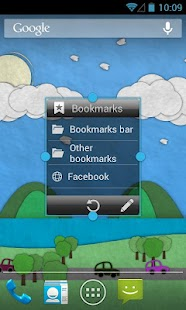 Bookmarks Widget - screenshot thumbnail