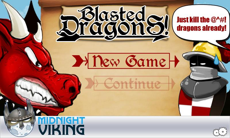 Blasted Dragons LITE - screenshot