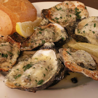 Drago's Style Charbroiled Oysters