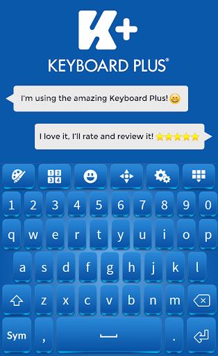 蓝免费键盘主题