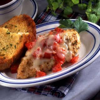 Cheesy Garlic Chicken.