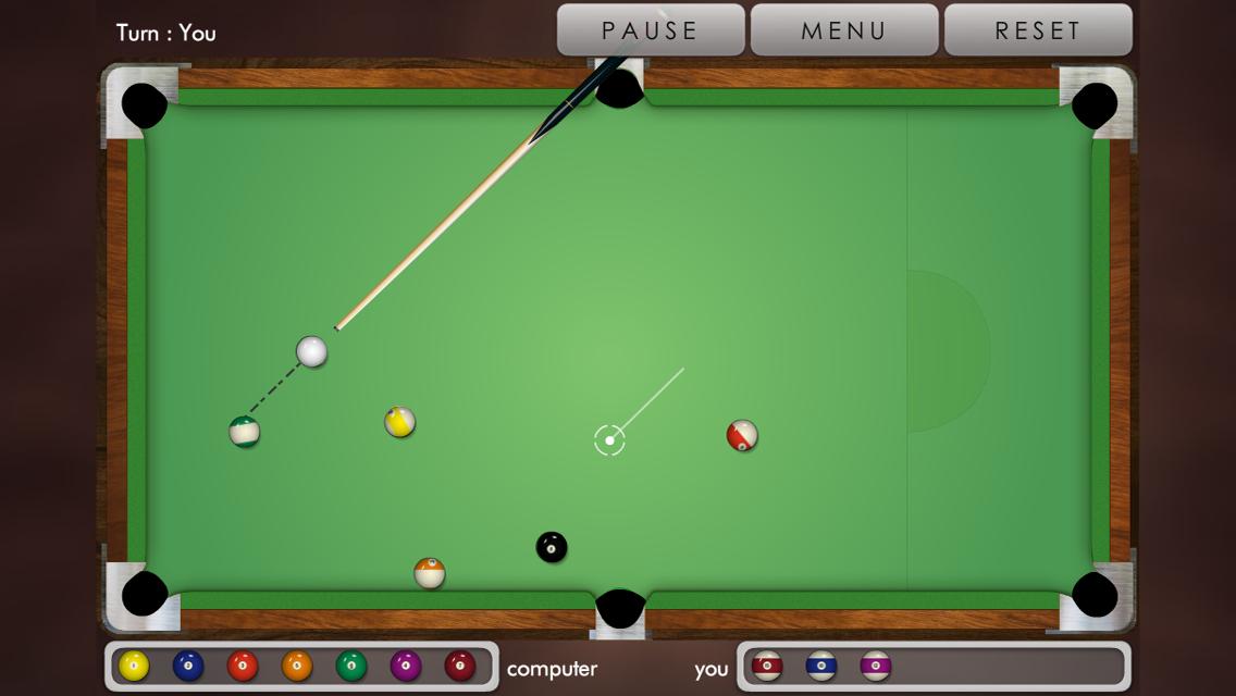 Pool billiard ! - screenshot