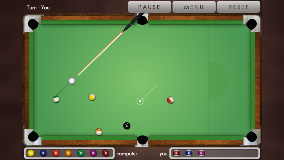 Pool billiard ! (Android) reviews at Android Quality Index