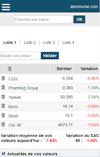 ABC Bourse- screenshot thumbnail