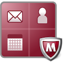 McAfee Secure Container icon