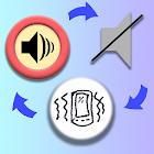Change ringer mode widget icon